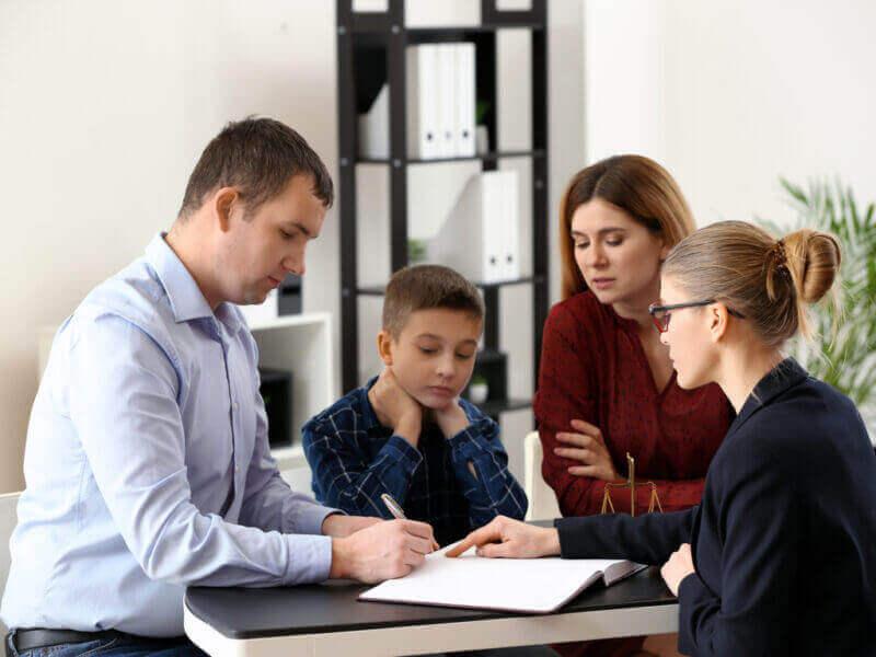 Separación de parejas con hijos medidas a tener en cuenta
